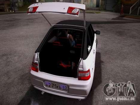 VAZ 2112 GVR Qualität für GTA San Andreas rechten Ansicht