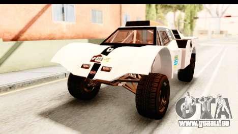 GTA 5 Desert Raid IVF für GTA San Andreas Unteransicht