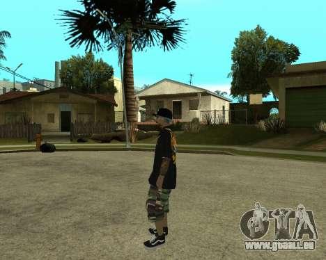 New Armenian Skin pour GTA San Andreas dixième écran
