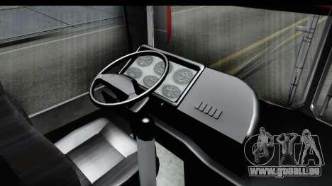 Dodge 300 Microbus pour GTA San Andreas sur la vue arrière gauche