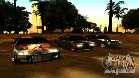 Toyota Chaser pour GTA San Andreas vue de droite