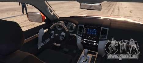 Toyota Land Cruiser 2013 pour GTA 5