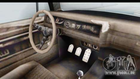 GTA 5 BF Injector pour GTA San Andreas vue intérieure