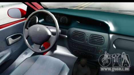 Renault Megane Coupe pour GTA San Andreas vue arrière