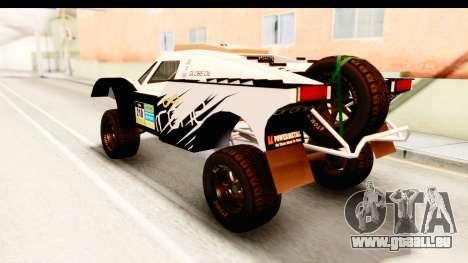 GTA 5 Desert Raid IVF für GTA San Andreas obere Ansicht