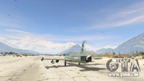 AT-26 Impala Xavante ARG für GTA 5