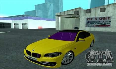 BMW 525 Gold pour GTA San Andreas