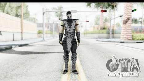 Mortal Kombat vs DC Universe - Smoke pour GTA San Andreas deuxième écran