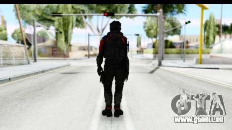 Homefront The Revolution - KPA v1 Camo pour GTA San Andreas troisième écran