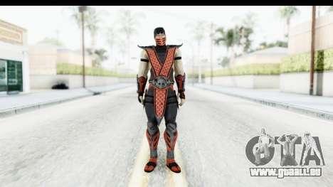 Mortal Kombat vs DC Universe - Ermac pour GTA San Andreas deuxième écran