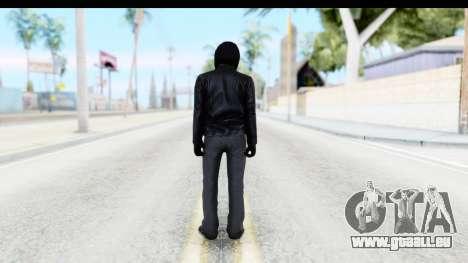 GTA 5 Heists DLC Male Skin 2 pour GTA San Andreas troisième écran