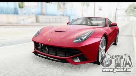 Ferrari F12 Berlinetta 2014 für GTA San Andreas zurück linke Ansicht