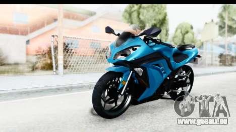 Kawasaki Ninja 300R für GTA San Andreas