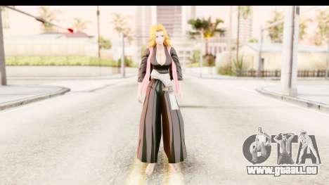 Bleach - Rangiku für GTA San Andreas zweiten Screenshot