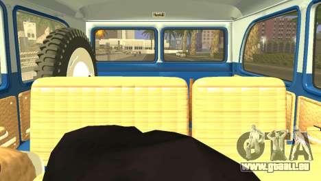Jeep Station Wagon 1959 pour GTA San Andreas vue arrière