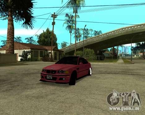 BMW M3 Armenian für GTA San Andreas linke Ansicht