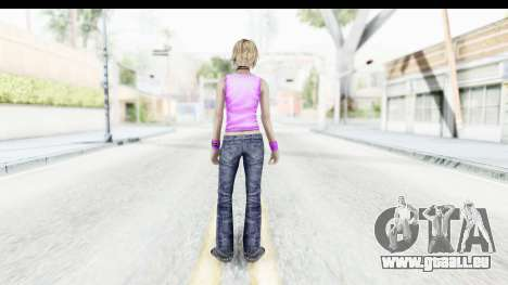 Silent Hill 3 - Heather Sporty Neon Pink für GTA San Andreas dritten Screenshot