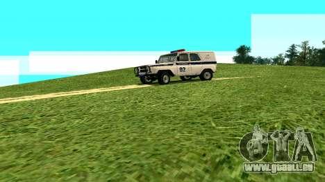 Les effets Standard sans poussière pour GTA San Andreas deuxième écran