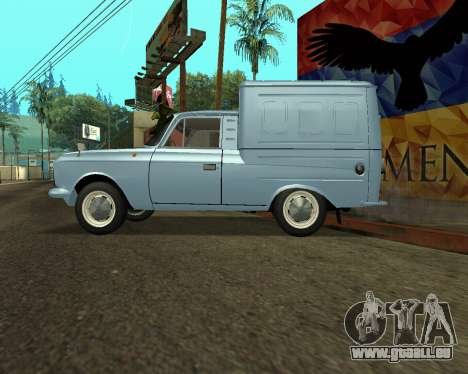 Moskvich 2715 Arménien pour GTA San Andreas roue