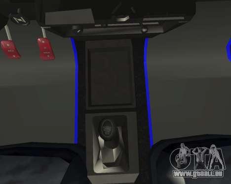 Vaz 21099 ARMNEIAN für GTA San Andreas Innen