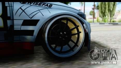 BMW M235i HGK pour GTA San Andreas vue arrière
