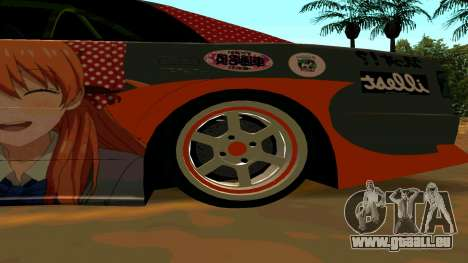 Toyota Chaser für GTA San Andreas Seitenansicht