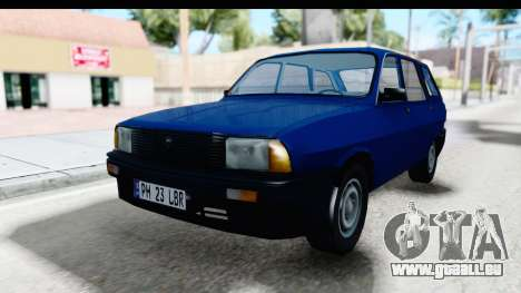 Dacia Liberta pour GTA San Andreas sur la vue arrière gauche