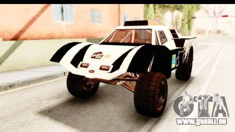 GTA 5 Desert Raid IVF für GTA San Andreas Seitenansicht