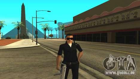 La peau d'un agent de sexe féminin pour GTA San Andreas