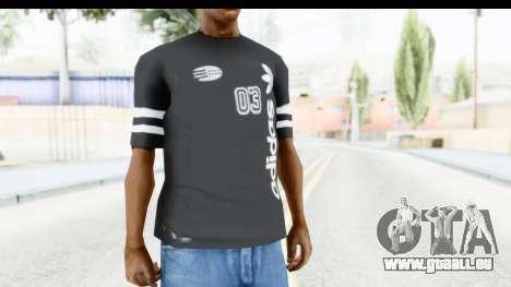 Adidas 03 T-Shirt für GTA San Andreas zweiten Screenshot