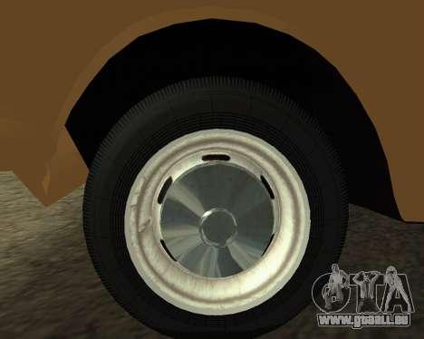 Moskvich 2715 Arménien pour GTA San Andreas vue arrière