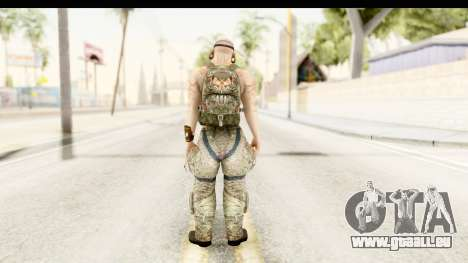 CrimeCraft Male Rogue für GTA San Andreas dritten Screenshot