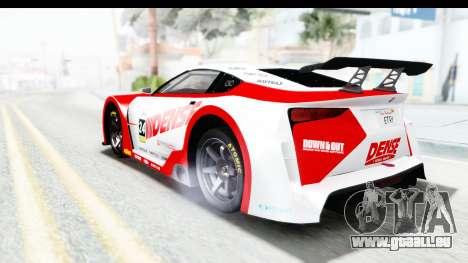 GTA 5 Emperor ETR1 v2 IVF pour GTA San Andreas vue de dessus