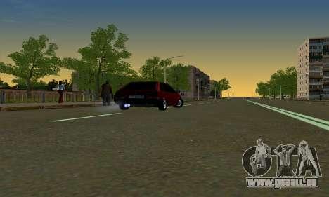 2109 pour GTA San Andreas vue intérieure