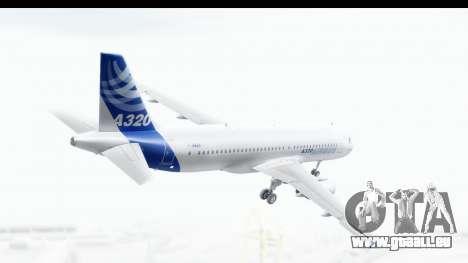 Airbus A320-200 Industrie MSN 1 2005 - 2012 für GTA San Andreas rechten Ansicht