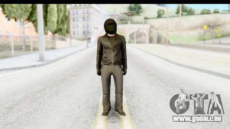 GTA 5 Heists DLC Male Skin 2 für GTA San Andreas zweiten Screenshot