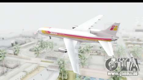 Lockheed L-1011-100 TriStar Iberia für GTA San Andreas rechten Ansicht
