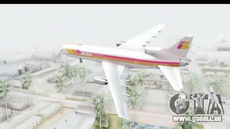 Lockheed L-1011-100 TriStar Iberia pour GTA San Andreas vue de droite
