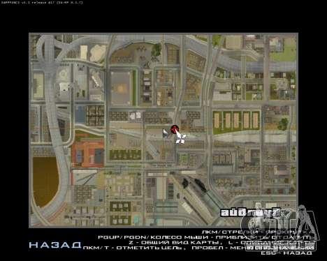 La peinture du garage pour GTA San Andreas sixième écran
