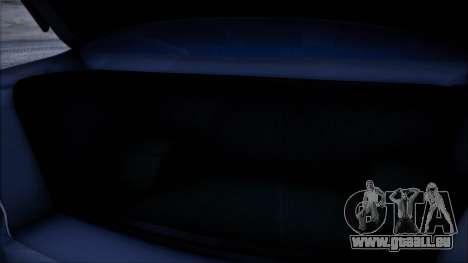 Mitsubishi Lancer GVR für GTA San Andreas Rückansicht