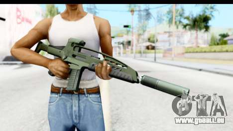 H&K XM8 Silenced pour GTA San Andreas troisième écran