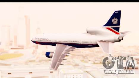 Lockheed L-1011-100 TriStar British Airways für GTA San Andreas linke Ansicht