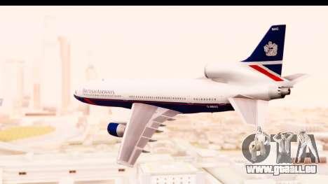 Lockheed L-1011-100 TriStar British Airways für GTA San Andreas linke Ansicht