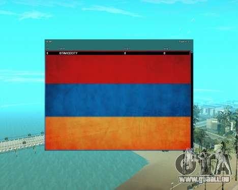 Sampgui Mouse Armenian Style pour GTA San Andreas