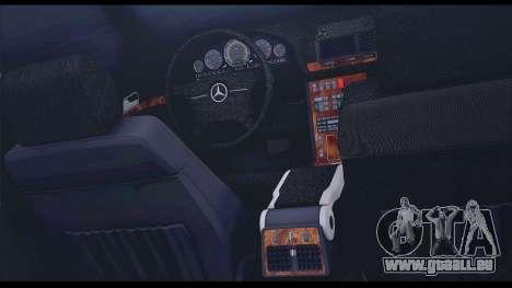 Mercedes-Benz W140 für GTA San Andreas obere Ansicht