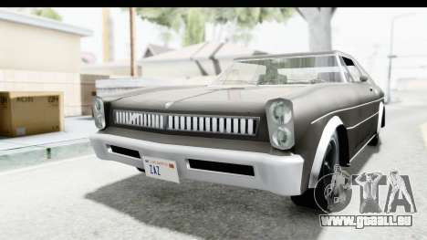 Imponte Tempest 1966 pour GTA San Andreas vue de droite