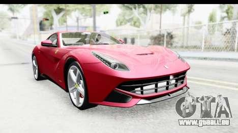 Ferrari F12 Berlinetta 2014 für GTA San Andreas