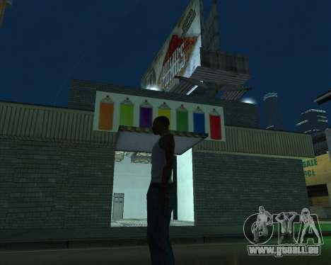 Farbe der garage für GTA San Andreas dritten Screenshot