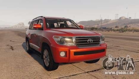 Toyota Land Cruiser 2013 für GTA 5