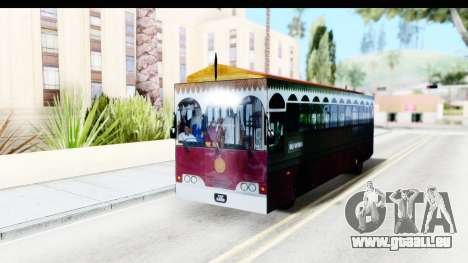 Cas Ligas Terengganu City Bus Updated pour GTA San Andreas